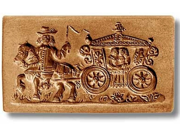 Baroque Wedding Coach cookie mold by Änis-Paradies 5919