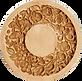 2021 wreath springerle cookie mold anis