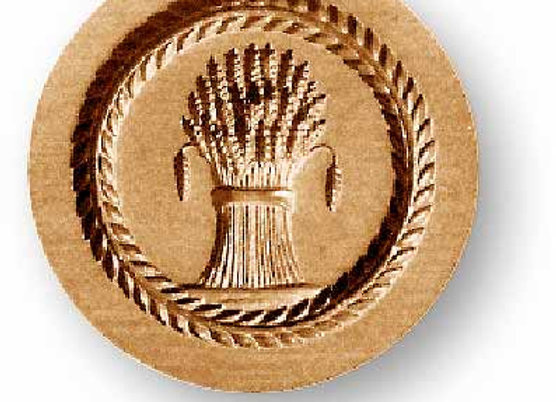 AP 2014 Sheaf of Corn  springerle cookie mold by Anise Paradise