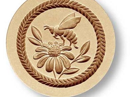 Bee on Flower springerle cookie mold by Anis-Paradies 3297