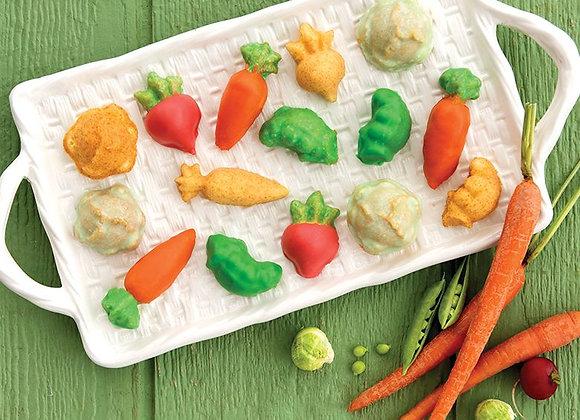 Garden Patch Veggie Cakelet Pan by Nordic Ware  #50348