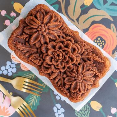 wildflower bundt loaf cake pan nordic wa