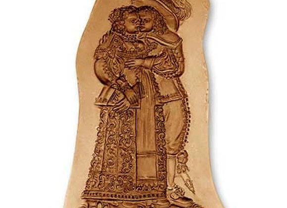 Baroque Loving Couple springerle cookie mold by Anis-Paradies 5960