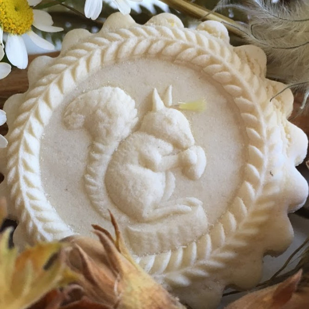 3447 squirrel springerle cookie mold ani