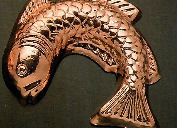 Swiss Fish Copper Baking Mold Birth-Gramm BG602