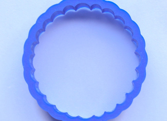 AP C - 2744 Fluted Round cookie cutter by Gingerhaus