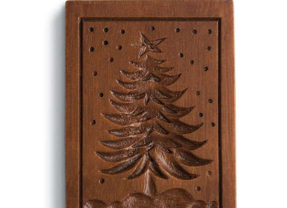 Frosty Tree Springerle Cookie Mold by House on the Hill M11136