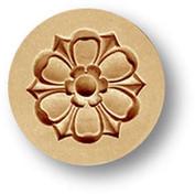 1695 flower ornament springerle cookie m