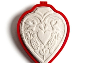 C - 5134 Engraved Heart cookie cutter by Gingerhaus 17232