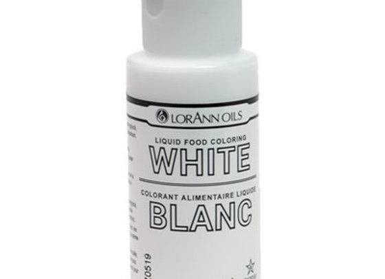 White Liquid Food Color 1 oz. by LORANN 1130-0500