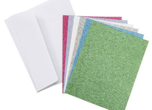 Core'dinations Cards and Envelopes - Glitter Brights - A2 - 36 sets GX-8000-55