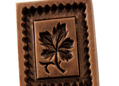 Sugar Maple Leaf Springerle Cookie Mold  by House on the Hill M7706