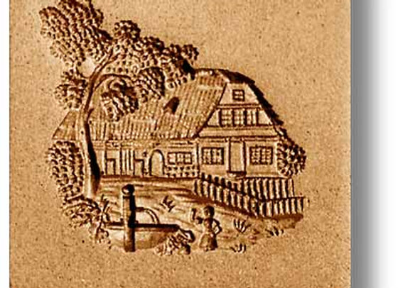 Swiss Farm House springerle cookie mold by Anis-Paradies 7652