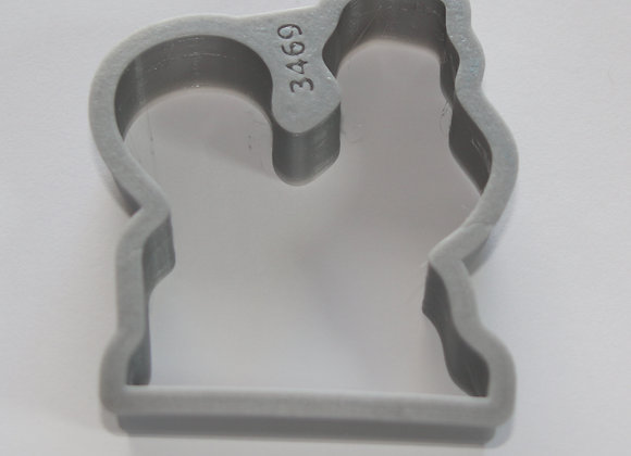 C - 3469 Rooster cookie cutter by Gingerhaus