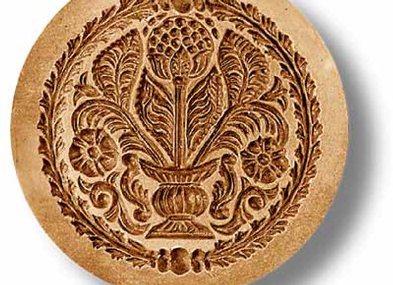 AP  2262 Bouquet of Flowers springerle cookie mold by Anise Paradise