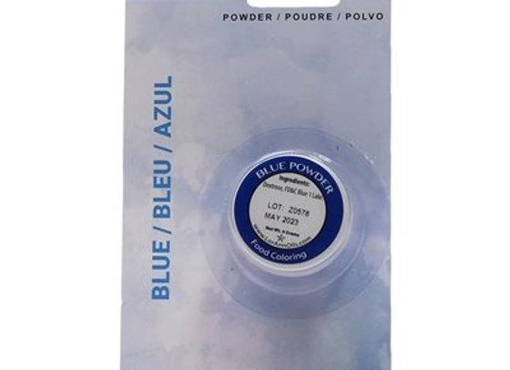 Blue Powder Food Color 1/2 oz.  by LorAnn Oils 1310-0400