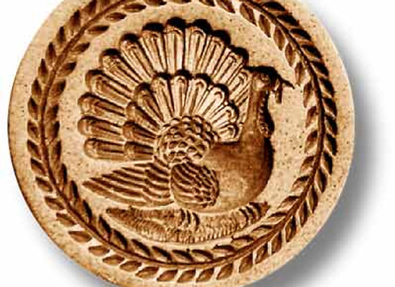 Turkey springerle cookie mold by Anise Paradise 3212