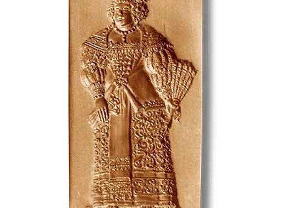 Baroque Woman springerle cookie mold by Änis-Paradies 5841
