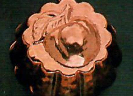 Swiss Apple Copper Choclolate Baking Mold by Birth-Gramm BG1103-apple