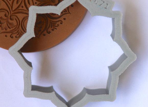 AP C - 1671 Outline Heart Ornament cookie cutter Gingerha