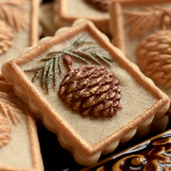 pinecone springerle cookie mold anise pa