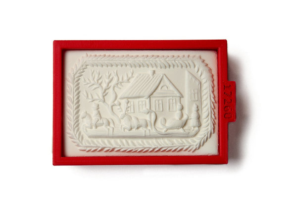 C -  1001 Rectangular cookie cutter by Gingerhaus 1001
