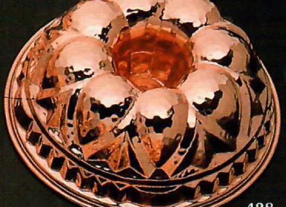 Swiss Kugelhopf Bundt Copper Baking Mold Cake Pan Birth-Gramm BG428
