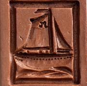 sailboat sloop springerle cookie mold ho