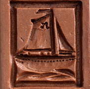 sailboat sloop springerle cookie mold ho