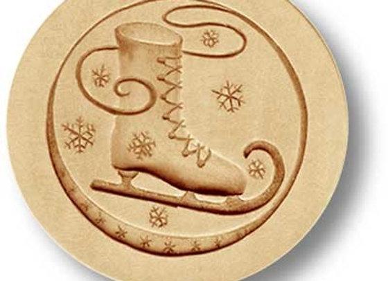 Ice Skate springerle cookie mold by Anis-Paradies 1210