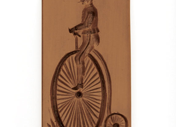 Bicyclist Springerle Cookie Mold  by House on the Hill M11008