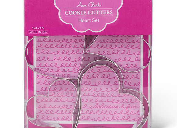 Heart Cookie Cutter Boxed Set by Ann Clark