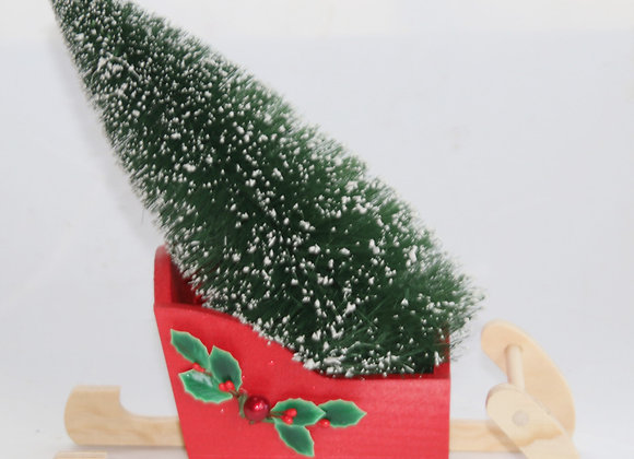 Christmas Tree Sleigh music box by Gingerhaus - Lee Shepherd MB-SLE