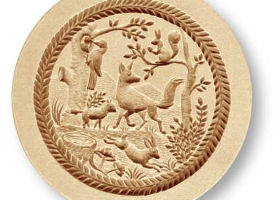 Forest animals springerle cookie mold by Anis-Paradies 3027