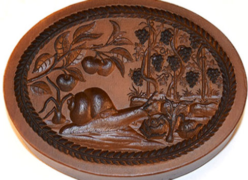 Fall Springerle Cookie Mold  by House on the Hill M5713