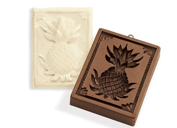 Hospitality Pineapple Springerle Cookie Mold by House on the Hill M7514