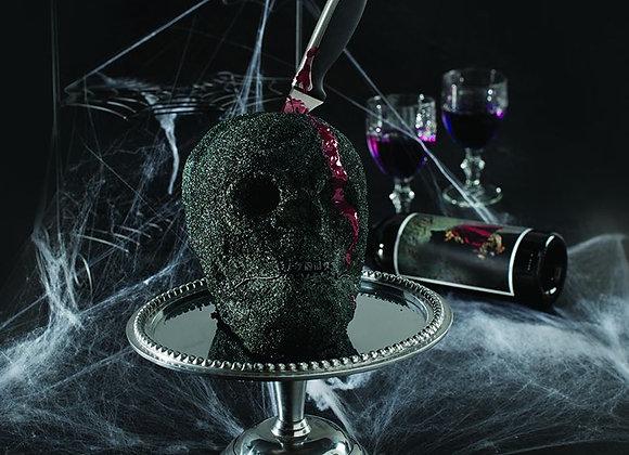 Haunted Skull bundt cake pan by Nordic Ware 88448