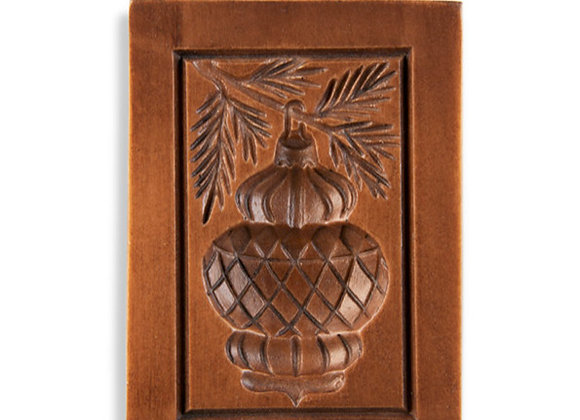 M12021 Ornamental Ornament Springerle Cookie Mold  by House on the Hill