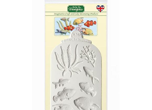 Fish Seaweed Coral by Katy Sue Designs CE0072