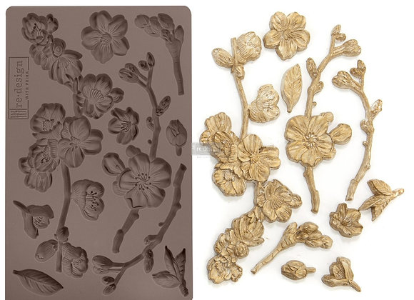 CHERRY BLOSSOMS silicone mold - Redesign with Prima®