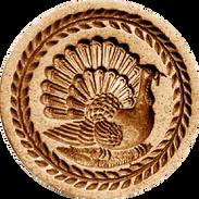 thanksgiving turkey springerle mold