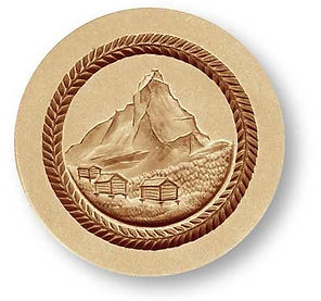 Matterhorn springerle cookie mold by Änis-Paradies 4621