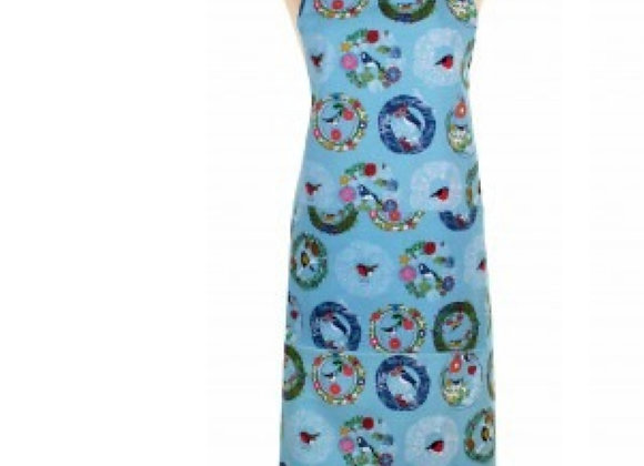 Frosty Cotton Apron by Ulster Weavers