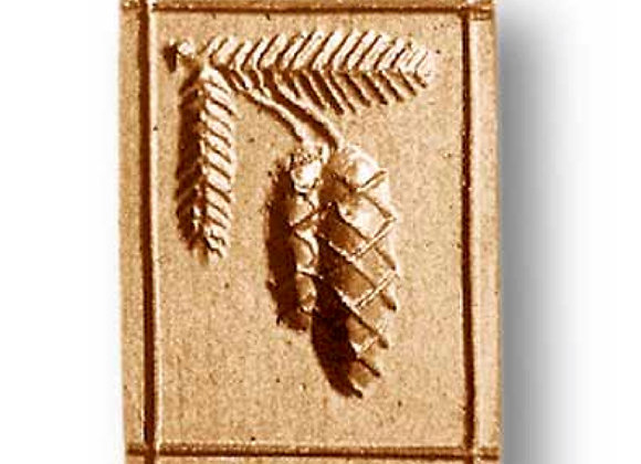 1006 Pine Cones springerle cookie mold by Anis-Paradies