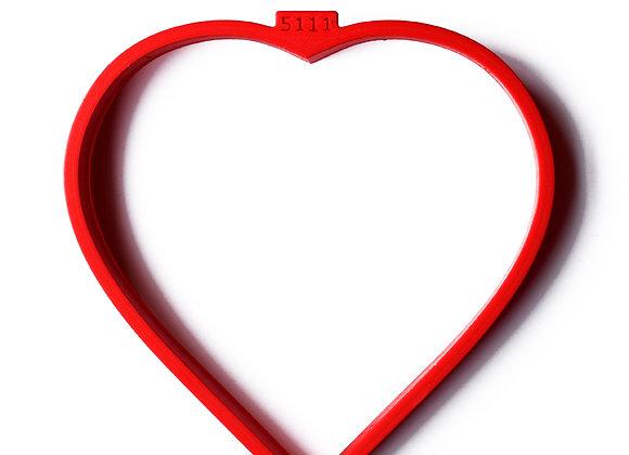 C - 5111 Flower Heart cookie cutter by Gingerhaus 17283