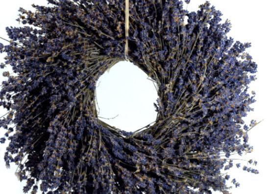 Lavender Wreath by Gingerhaus Farm