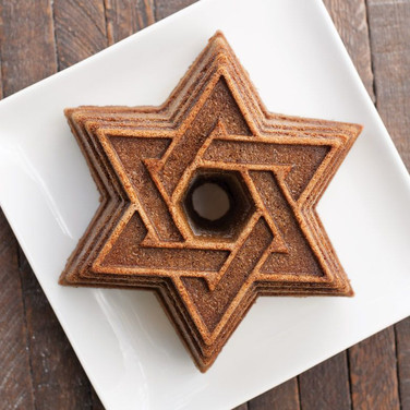 Star of David Hanukkah Cake Gingerhaus 5