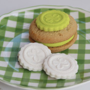springerle cookie mold shamrock clover
