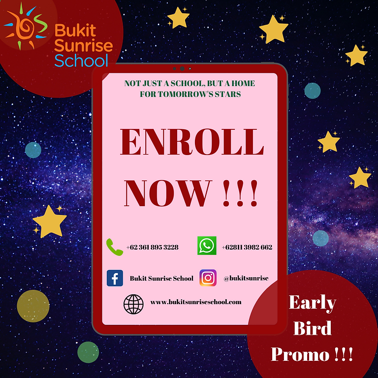 Enrol now !!!