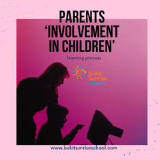 The Attitude and Support of Parents is Very Helpful for Students' Learning Process.